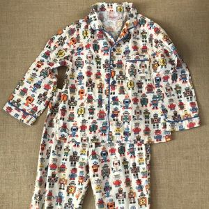 Cath Kidston robot flannel pajamas